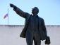 В 1925 году открыт памятник В. И. Ленину в Калуге