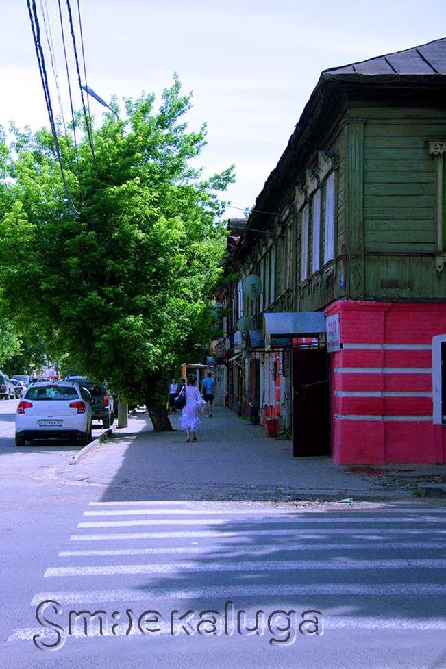 Дом № 15 на улице Воронина