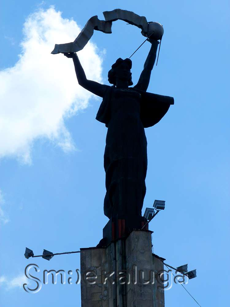 На дамбе появится «Знамя Победы», а в сквере Ленина установят пятиконечную звезду