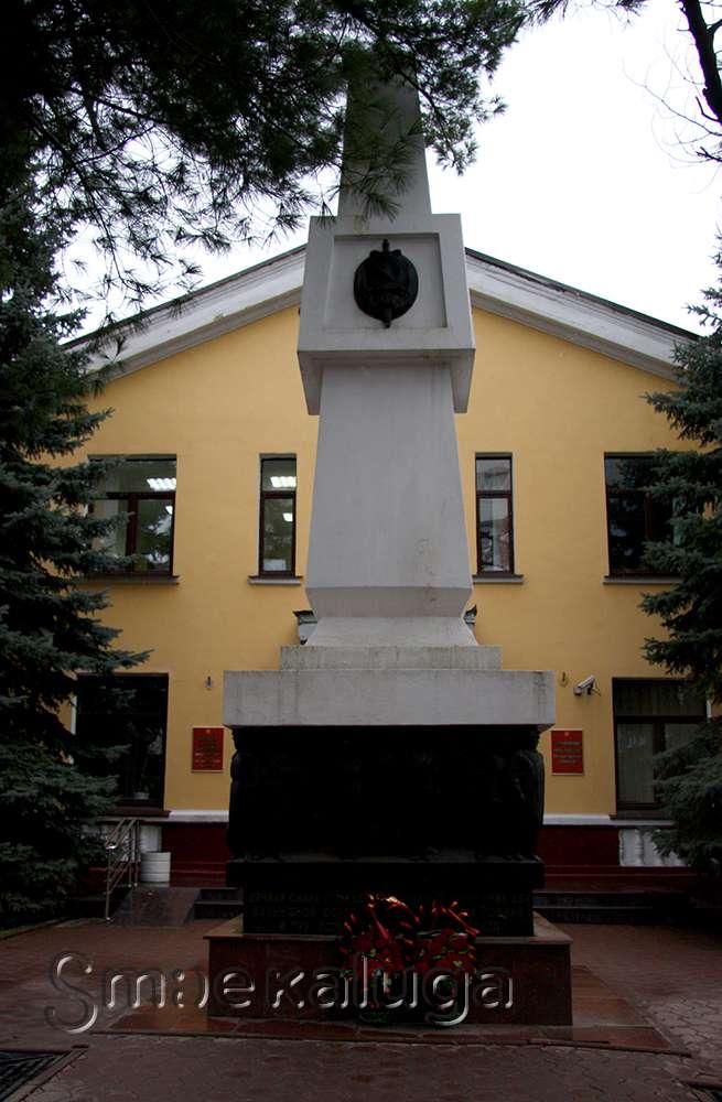 Памятник погибшим на службе сотрудникам ОВД