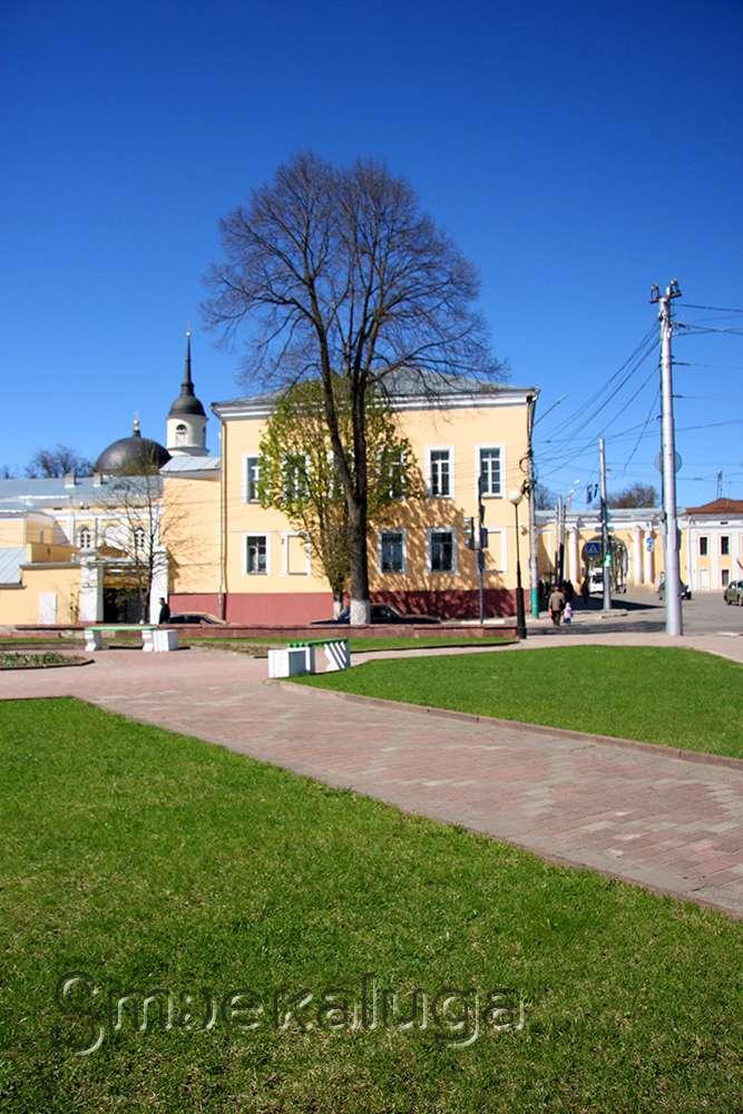 Ансамбль Присутственных мест с парком и собором Троицы