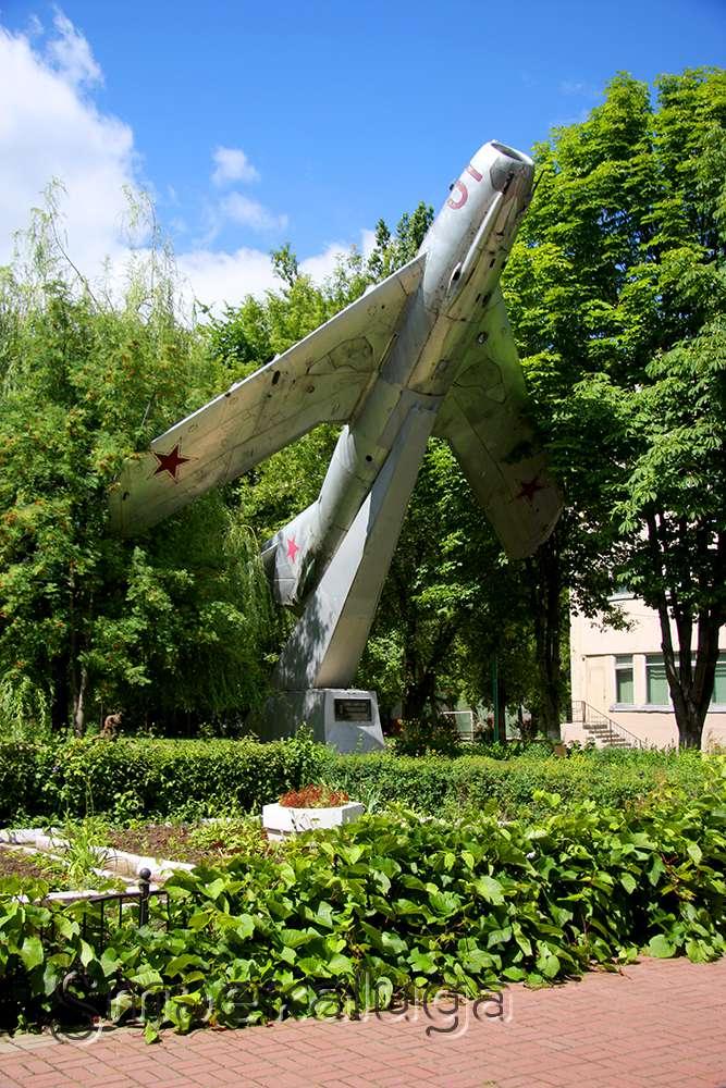 Памятник авиаторам 324-й Свирской Краснознаменной дивизии