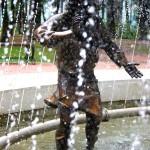 Скульптура старика калуга