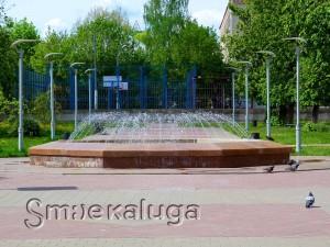 Сквер Калужской областной филармонии калуга