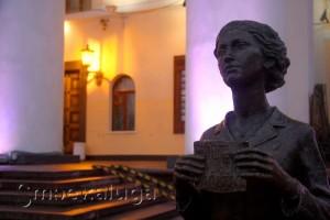 Памятник театральному зрителю калуга