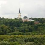 Вид на Троицкий собор с Правого берега калуга