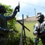 Циолковский и Королев в калуге