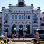 """Здание железнодорожного вокзала """"Калуга - 1"""" в Калуге калуга"""