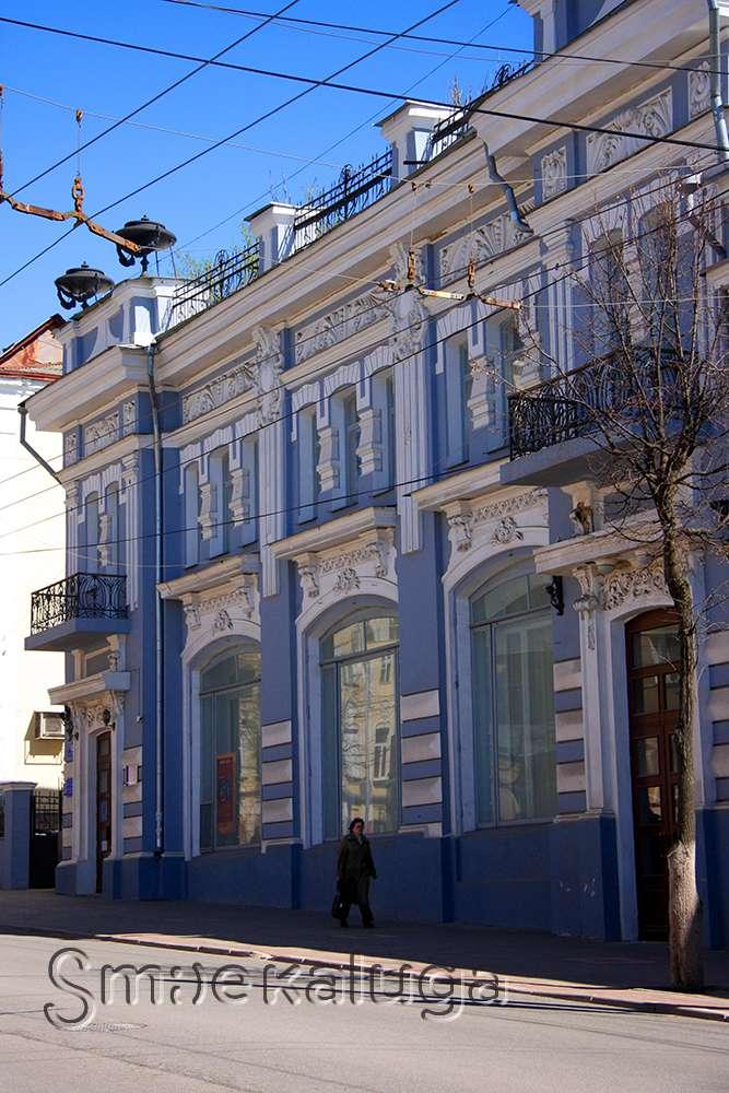 Здание магазина Игнатовых, банк