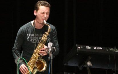 Группа Jazzatov Band в баре Мажор