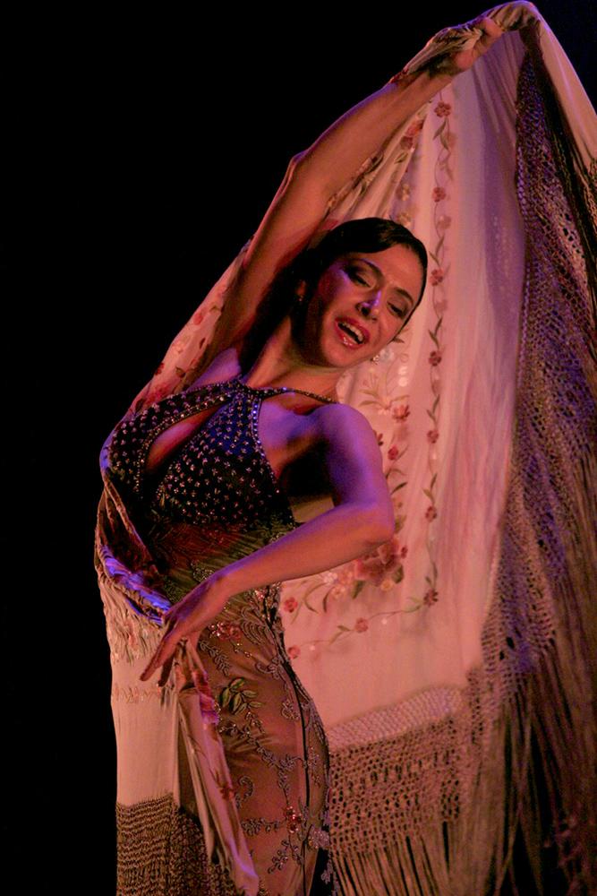 Предфестивальное шоу Flamenco por tres