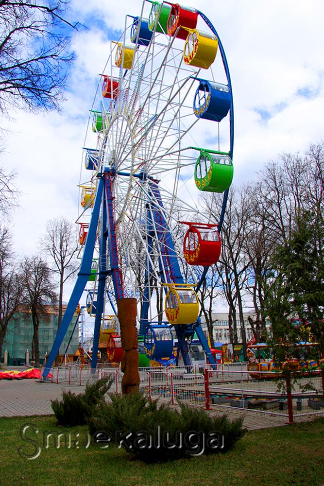 Открыт сезон работы аттракционов в «Калуга-парке»: новинка «Конный двор»