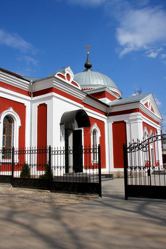 Доступное краеведение: церковь Малютинского приюта