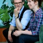 Джесси Кук с переводчиком Татьяной калуга