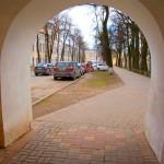 арка на улице баженова в калуге