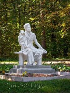 Памятник Пушкину калуга