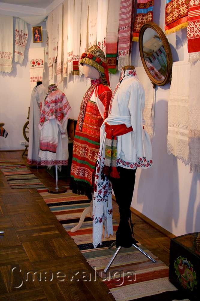 Выставка «Скатертью дорожка» во флигеле Калужского краеведческого музея