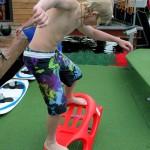 Самый юный участник соревнований калуга