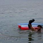 """Атрибуты """"Кончиты Вурст"""" не утонули в Яченском водохранилище калуга"""