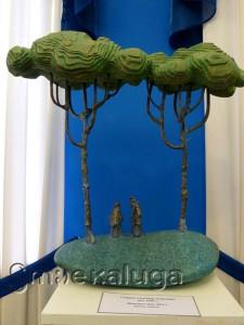 Скульптурный пейзаж Александра Смирнова калуга
