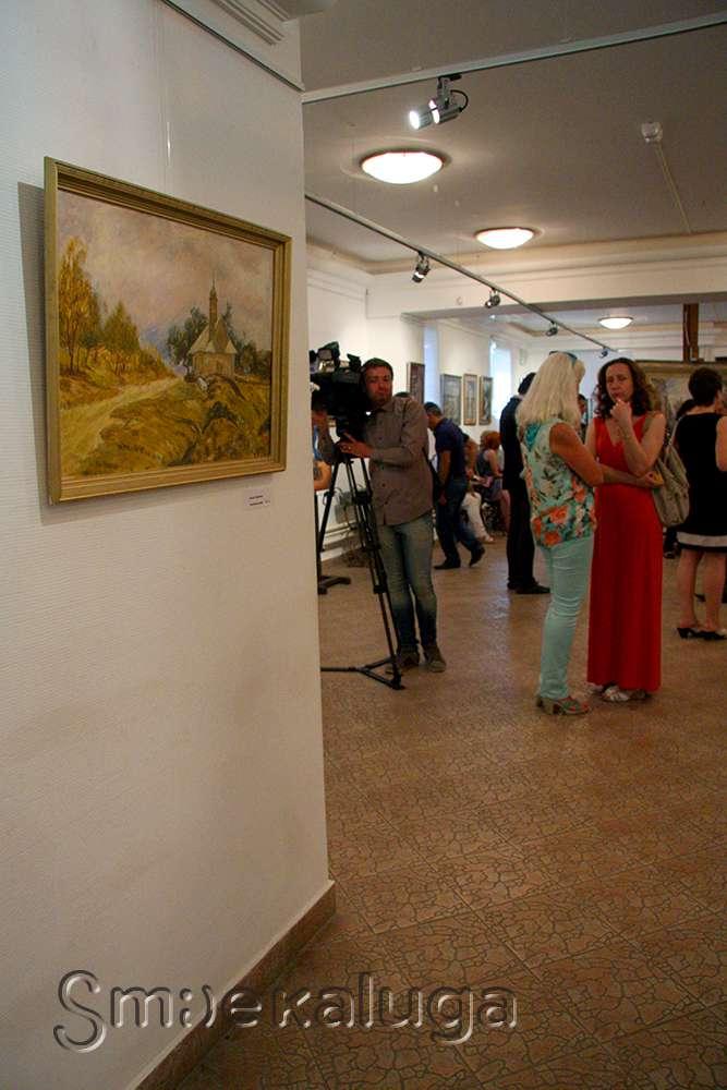 В Доме музыки открылась выставка художественной студии «Вдохновение»