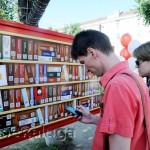 Мобильная библиотека на площади Театральной калуга