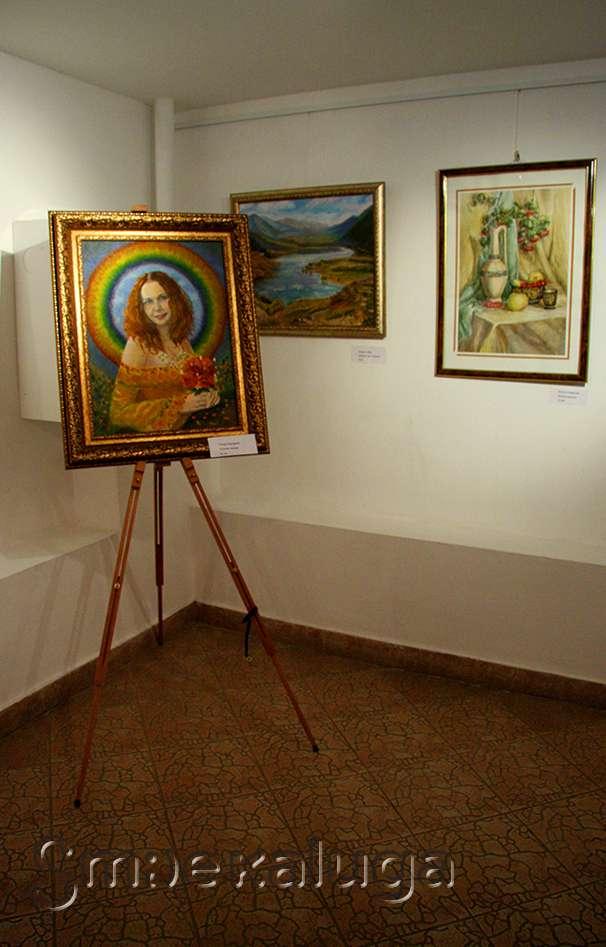 Выставка художественной студии «Вдохновение» в галерее Дома музыки