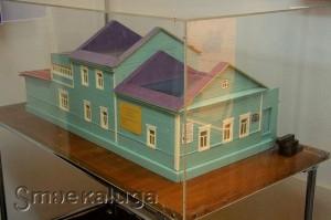 Макет Дома-музея Циолковского калуга