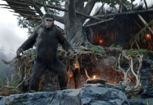 "Кадр из фильма ""Планета обезьян: Революция"" калуга"