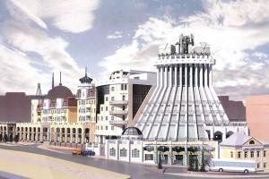"Проект здания гостиницы ""Шератон"" калуга"