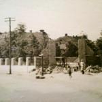 Сквер после войны