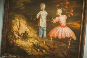 дети в искусстве калуга