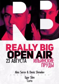 Really Big Open Air на Ильинских прудах