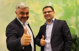 Ведущие бизнес-карусели Владимир Маринович и Руфат Гусейнов  калуга