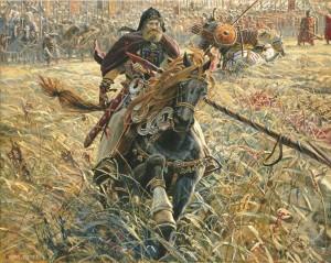 """Павел Рыженко. """"Победа Пересвета"""", 2005 год калуга"""