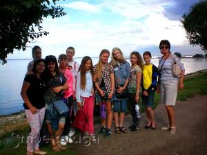 В поездке «Петергоф – детям России» с 15 по 20 августа 2014 года калуга