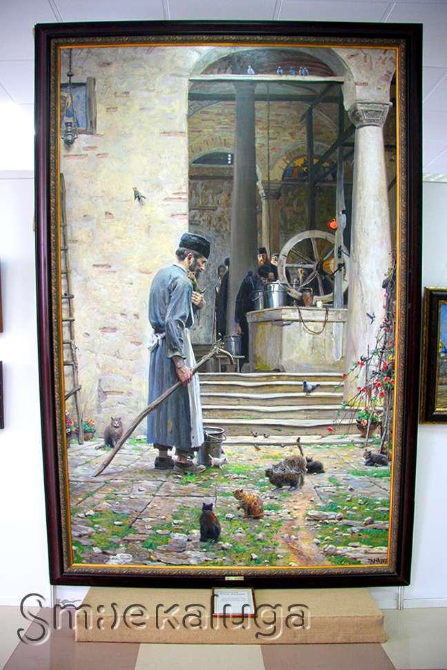Выставка картин Павла Рыженко откроется в Козельске