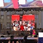 Сцена на площади Старый Торг калуга