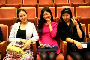 Участницы конкурса из Китая калуга