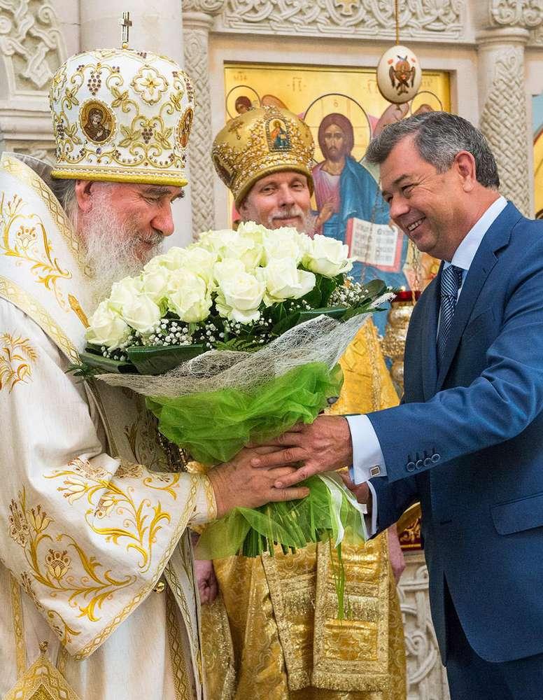 Митрополит Калужский и Боровский Климент награжден медалью «За особые заслуги перед Калужской областью» первой степени