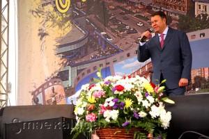 Константин Баранов открывает праздник калуга
