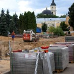 Работы по реконструкции продолжаются калуга