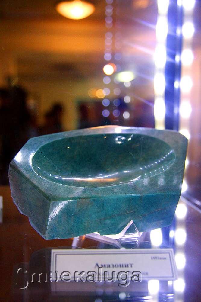 В галерее Дома музыки представлена уникальная коллекция минералов