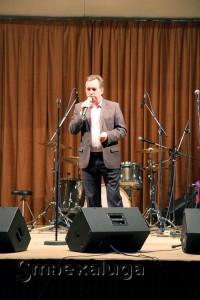 Организатор концерта Олег Акимов калуга