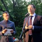 Владимир Мединский на церемонии открытия памтяника Гоголю калуга