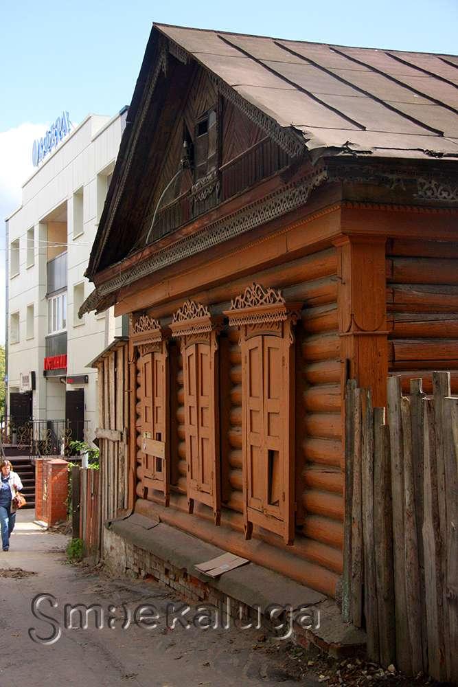 Символика художественной резьбы на сохранившихся калужских деревянных домах