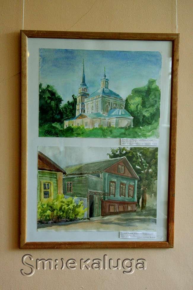 Выставка художественных работ учащихся детских школ искусств «Прогулки по любимому городу» в ГДЦ
