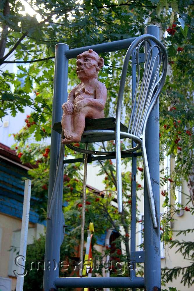 Скульптуры А. А. Лондарева и живопись Н. И. Кожухова – в экспозиции под открытым небом в переулке Кирова