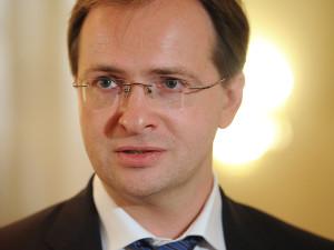 Министр культуры РФ Владимир Медынский калуга