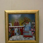 В экспозиции выставки (калужские мотивы) калуга